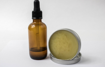 beard balm and beard oil